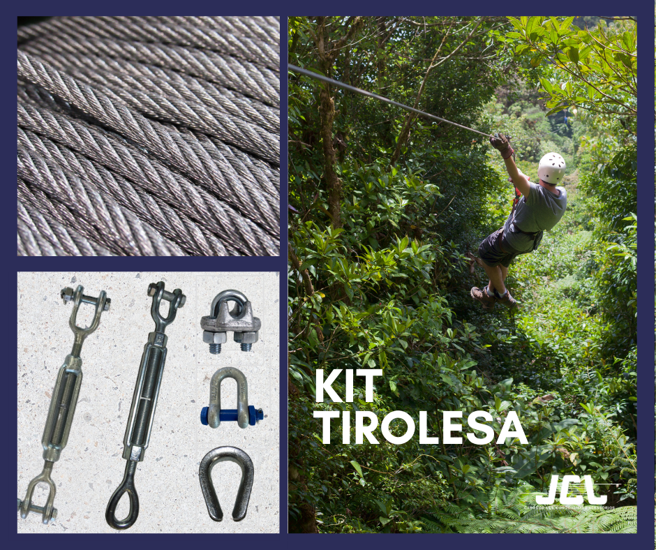 Kit Tirolesa JCL