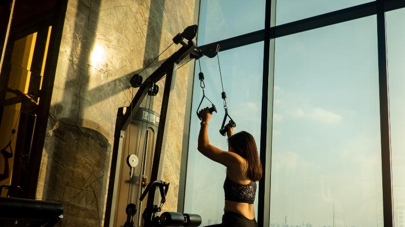Cabos de aço em aparelhos de musculação (2)
