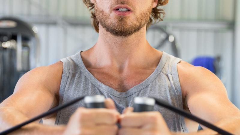 Cabos de aço em aparelhos de musculação